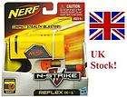 NERF N STRIKE REFLEX IX 1 DART BLASTER YELLOW