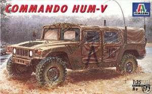 ITALERI 1/35 M998 COMMAND VEHICLE ARMOR MODEL KIT 273