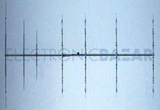 YAGI beam antenna 7 el. 14/21/28 MHz PKW THF7e