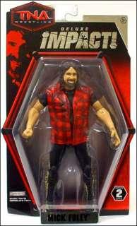 Mick Foley Jakks Pacific Toys TNA Deluxe Impact Wave 2 Action