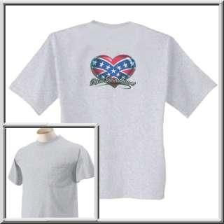 Dixie Sweetheart Confederate Flag Shirts S 2X,3X,4X,5X