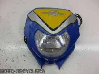 05 Sherco 450 450i headlight head light 1
