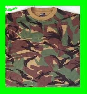 British DPM Camo Army T Shirt   S M L XL XXL