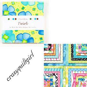 TWIRL Charm Pack by Me & My Sister Designs for Moda Fabrics