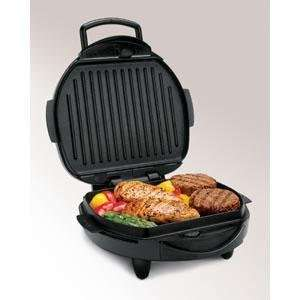 Hamilton Beach Contact Grill w/Removable Grids  Kitchen