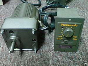 Panasonic motor M81A25GD4W1 with speed controller