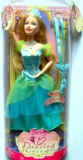 Barbie 12 Dancing Princesses Princess Delia Doll New