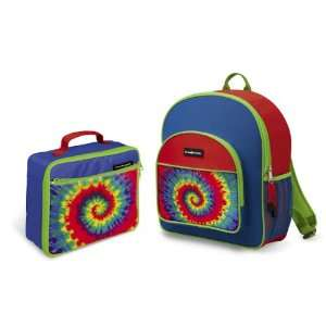Crocodile Creek Backpack and Lunch Box Set   Tie Dye