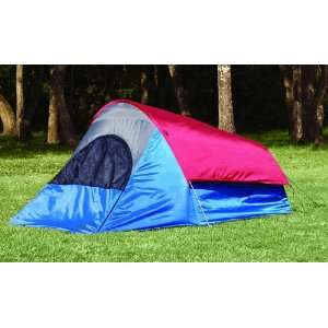 Texsport Double Bivy Tent Blue / Gray / Chili Pepper Red