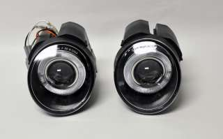 01 04 Nissan Navara Projector Halo Front Fog Lights
