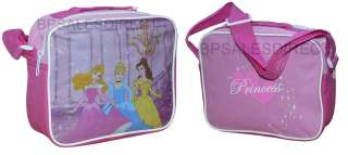 CHARACTER INSULATED SCHOOL LUNCH BOX SANDWICH COOL BAG GIFT NEW