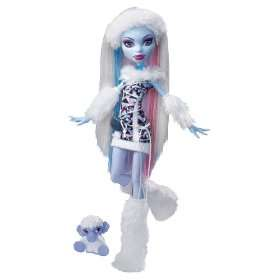 Monster High   Muñeca Abbey Bominable con diario monstruoso(en ingles
