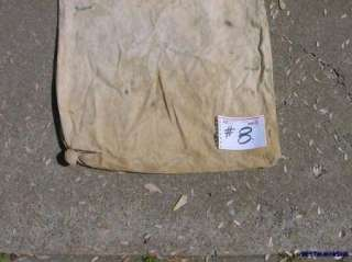 BEMIS 6 FT. FIELD COTTON PICKER PICKING SACK BAG (6 FOOT LONG) # 8