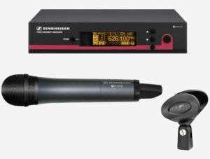 Sennheiser EW115G3 Handheld Wireless Microphone System