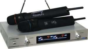 PDWM2300 Wireless Microphone System Dual VHF Wireless Mic Mikes