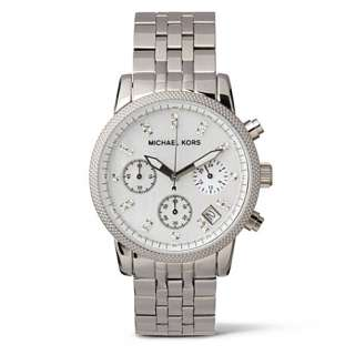 MK5020 SStainless steel chronograph watch   MICHAEL KORS   Watches