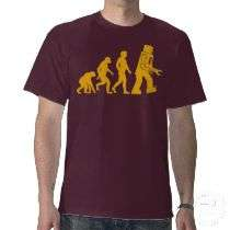Robot Evolution Sheldon Cooper Big Bang Theory Tshirts by strk3