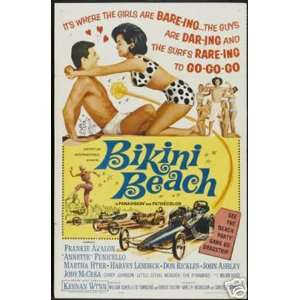 Bikini Beach Frankie Avalon Poster Everything Else