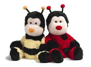 MICROWAVABLE HEAT PACKS   Cozy Soft Toy BUMBLE BEE