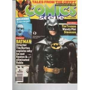 1989, Tim Burton, Michael Keaton As Batman, Wolverine hbo Books
