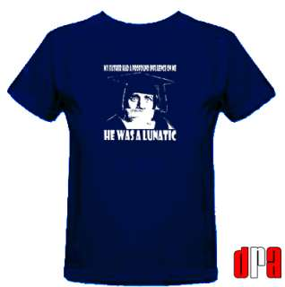SPIKE MILLIGAN THE GOONS UNOFFICIAL TRIBUTE CULT COMEDIAN T SHIRT