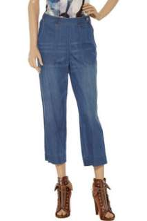 Wear cut25s vintage inspired cropped jeans as a chic alternative to