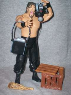 WWE Figure Ruthless Aggression Great Khali / Accessories, Video camara