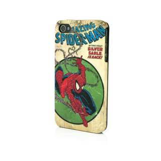 Marvel Amazing Spiderman Clip Case for iPhone 4 & 4S, New , By PDP