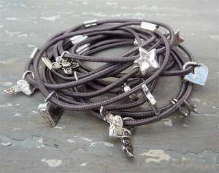 chunky grey elastic one is lovely, 2, 3 or more look even better