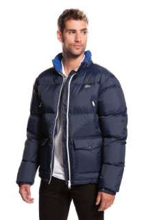 Home Sale Men Outerwear LACOSTE! Nylon Full Zip Puffer Jacket