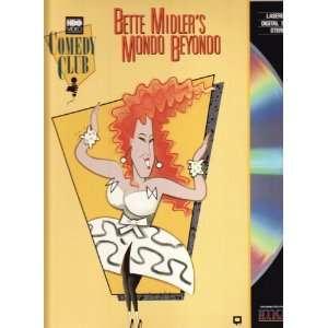 Bette Midlers Mondo Beyondo /Digital Stereo LaserDisc
