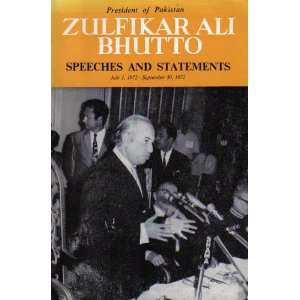 , July 1, 1972 September 30, 1972: Zulfikar Ali Bhutto: Books