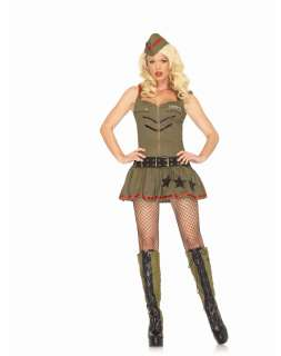 Sexy Halloween Costumes / Sexy Army Girl