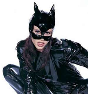 Black Vinyl Cat Mask   Cat Costume Accessories