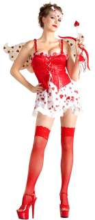 Adult Sexy Cupid Cutie Costume   Sexy Adult Costumes
