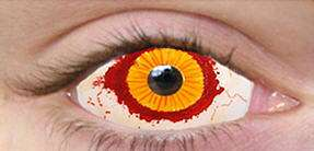 black sclera special effects contact lenses accessories makeup