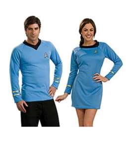 Star Trek Classic Adult Blue Dress Couples Costume  Wholesale Couples