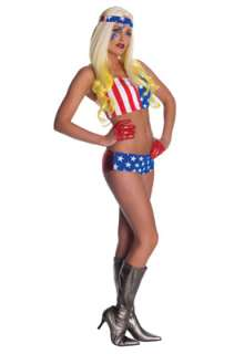 Lady Gaga American Flag Adult Costume for Halloween   Pure Costumes