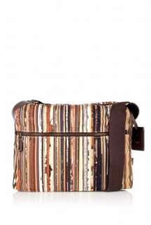 Paul Smith Accessories  Vintage Broken Multi Stripe Flight Bag by