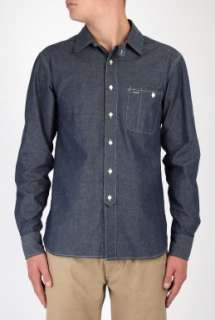 YMC  Blue Chambray Work Shirt by YMC