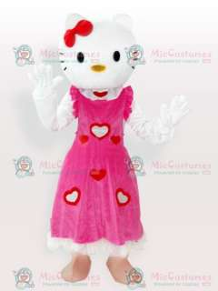 Discount Hello Kitty in Pink Dress Adult Mascot Costume
