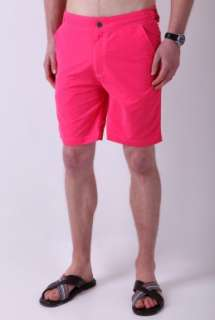 Pink 50s Long Swimshorts by Paul Smith Accessories   Pink   Buy