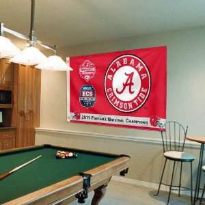 NCAA Alabama Crimson Tide 2011 BCS National Champions 3 x
