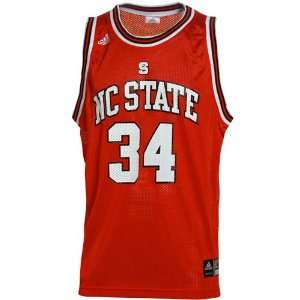 adidas North Carolina State Wolfpack Red Replica Basketball