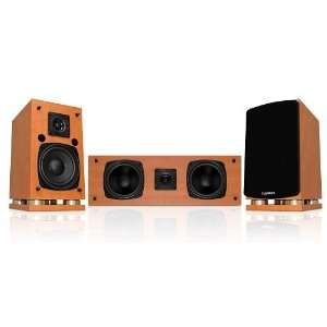Fluance SX Series Wood Center Channel Surround Sound