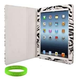 Apple iPad 3 Animal Print Smart Cover Leather Case Sleep
