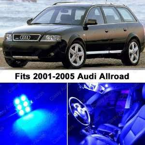 Audi Allroad BLUE LED Lights Interior Package Kit C5 Automotive
