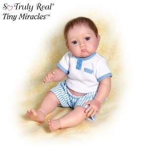 Christopher Needs A Kiss Baby Boy Doll by Ashton Drake Toys & Games