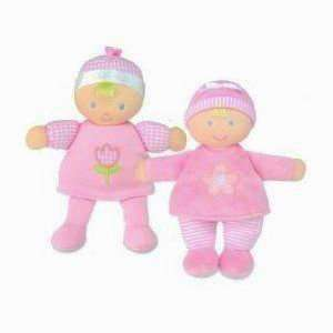 Itsy Flower Soft Pink Plush Baby Doll 7.5 (Styles May