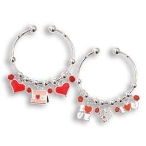 From the Heart Danglers Charm Bracelet Lead Safe Case Pack